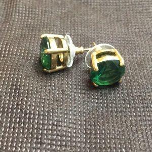 Kate Spade Green Stud Earrings